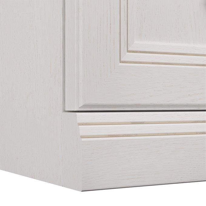 Комод Белладжио белого цвета с пятью ящиками