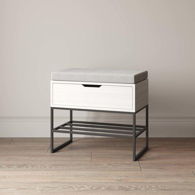 Банкетка Ramon hall mini белого цвета