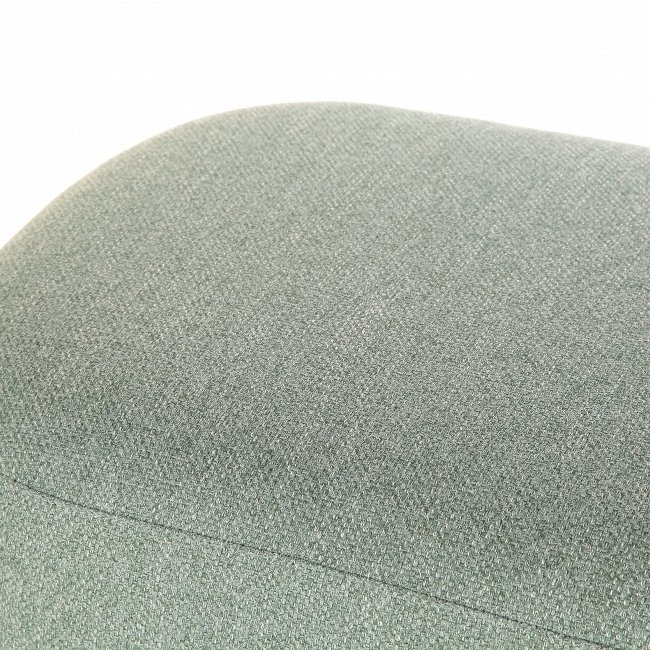 Банкетка Pawai серого-бирюзового цвета