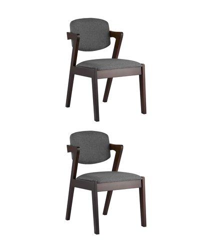 Набор из двух стульев Viva из массива гевеи