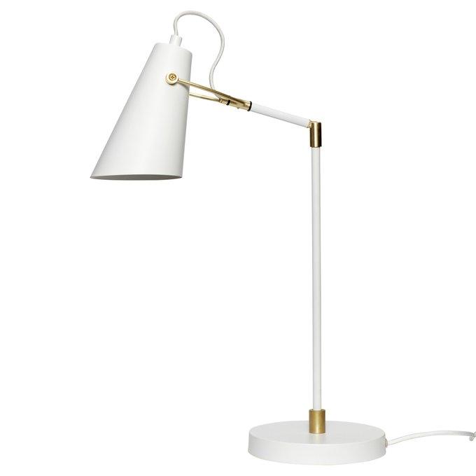 Настольная лампа из металла