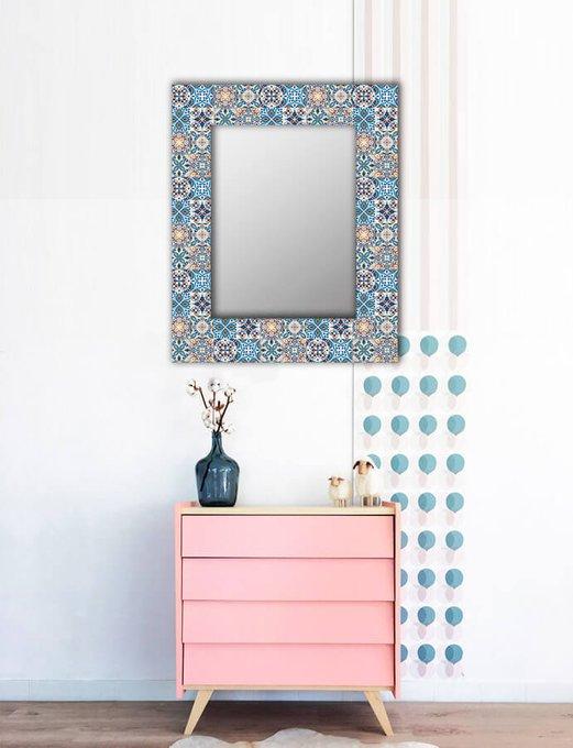 Настенное зеркало Мексиканская плитка 50х55