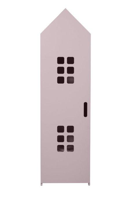 Стеллаж-домик City3 светло-лилового цвета