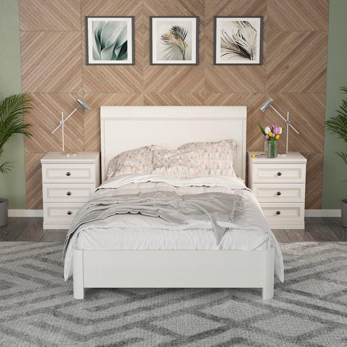 Кровать Белладжио 120х200 белого цвета