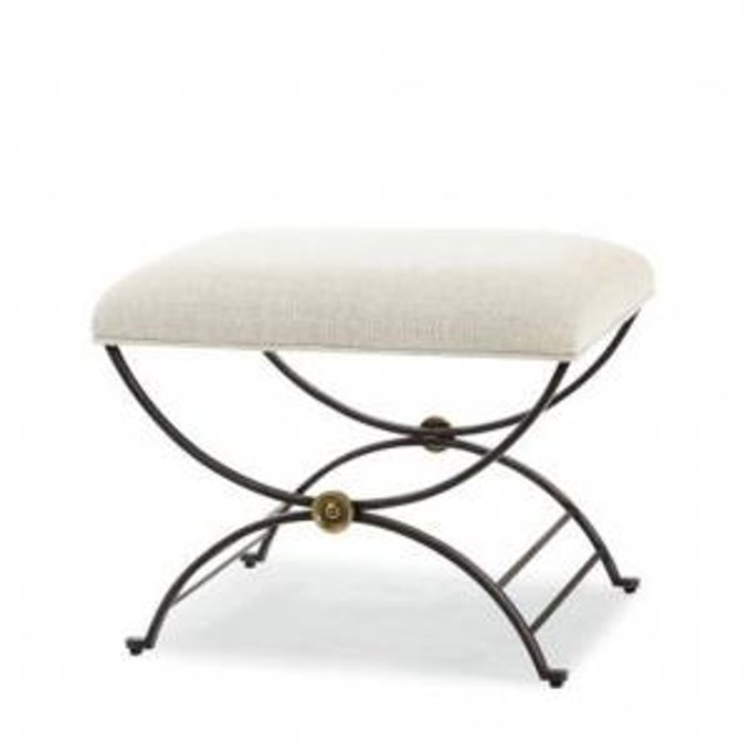 Скамья NILES BENCH WITH FABRIC SEAT