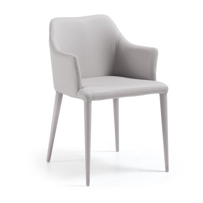 Обеденный стул Danai светло-серого цвета