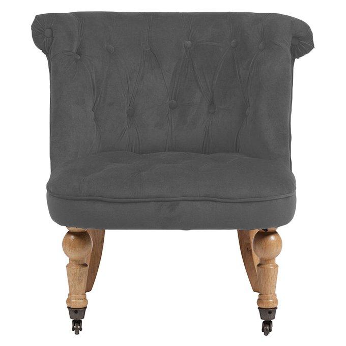 Кресло Amelie French Country Chair светло-серого цвета