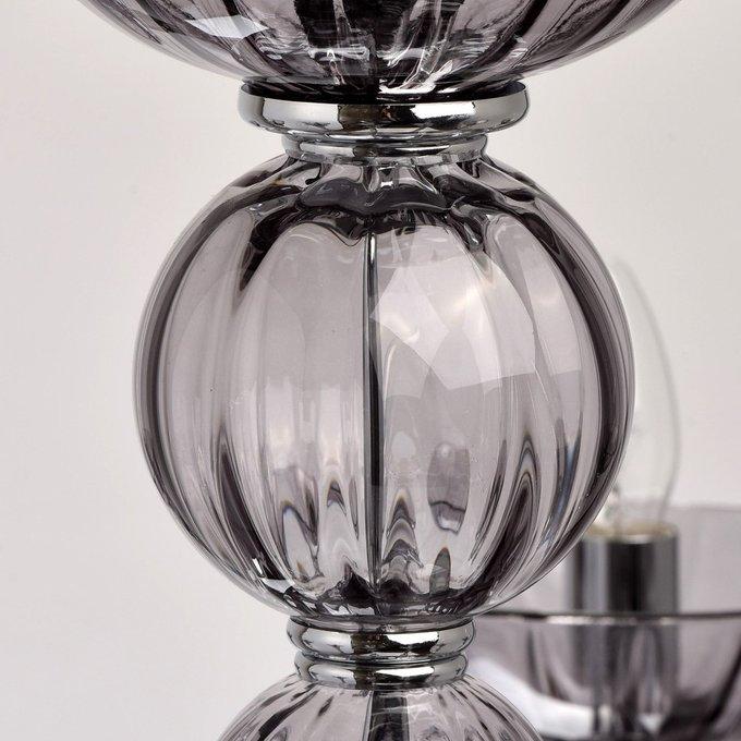Подвесная люстра Элла дымчато-серого цвета
