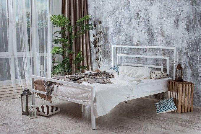 Кровать 1.4 Атланта в стиле лофт 140х200