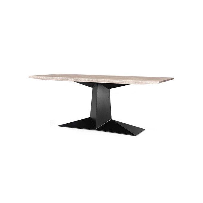 Обеденный стол Leyton с металлическим основанием