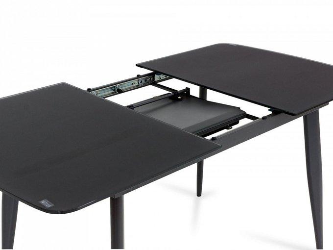 Раздвижной обеденный стол Triton серого цвета