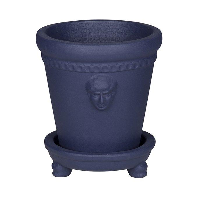 Кашпо Ceasar синего цвета