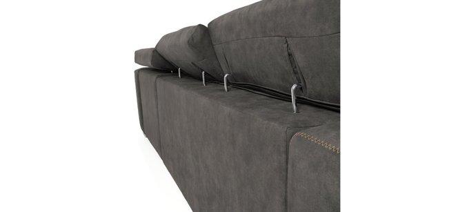 Угловой диван Singapore темно-серого цвета