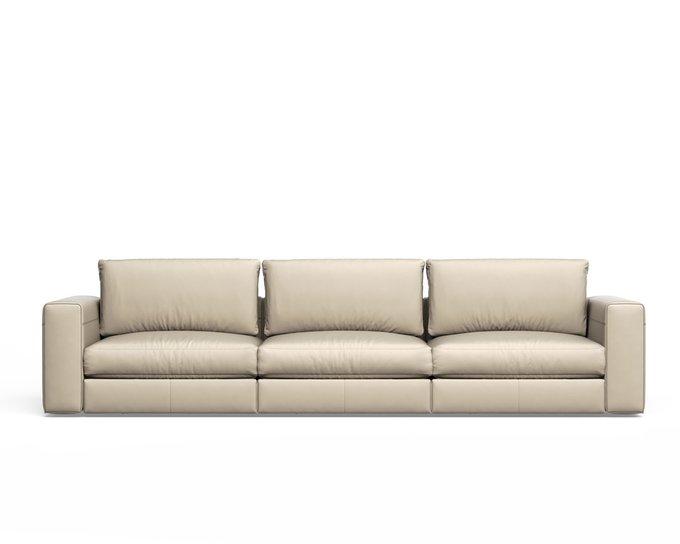 Трехместный раскладной диван SoSoft бежевого цвета
