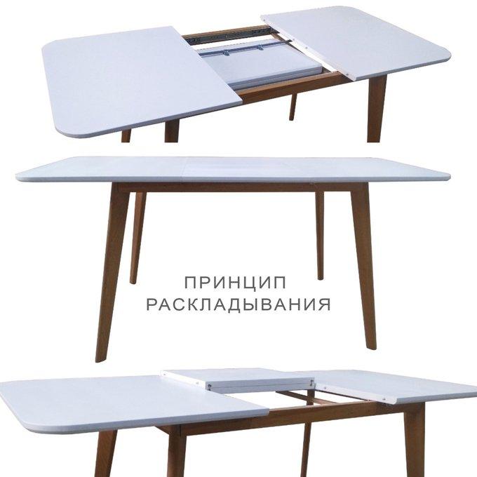 Стол раскладной Deus Transform 140(190)х80 цвета пепельный орех