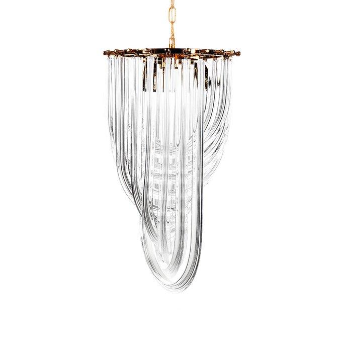 Подвесная люстра Murano Ray из металла и стекла