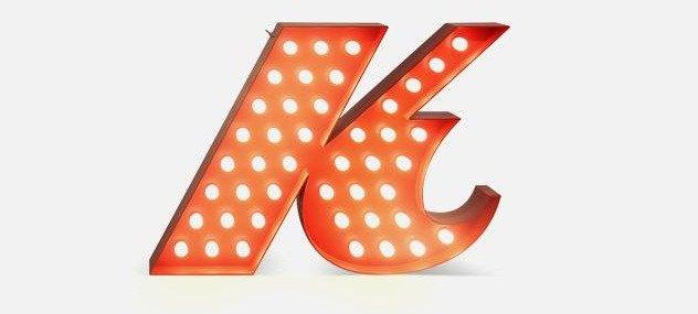 """Светильник """"K"""""""