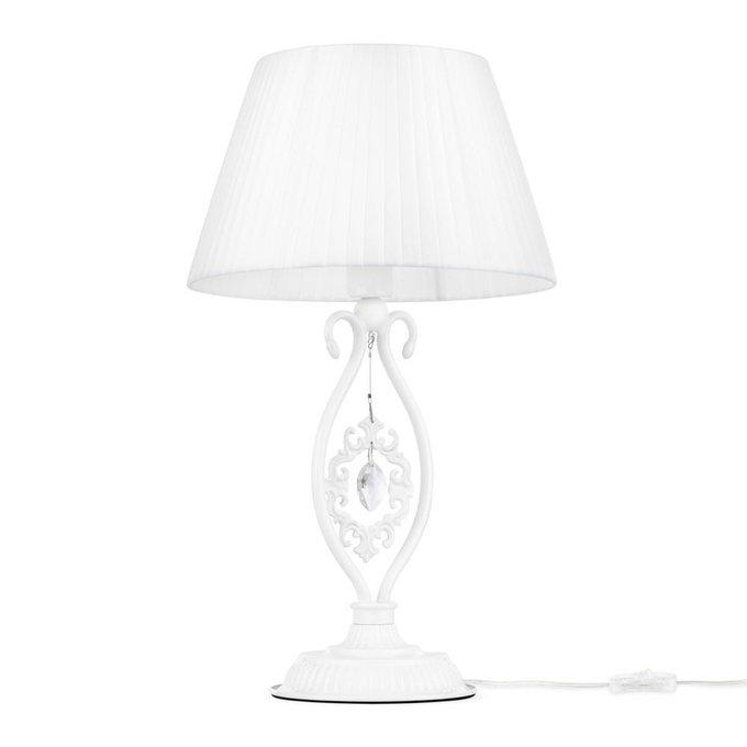Настольная лампа Passarinho белого цвета