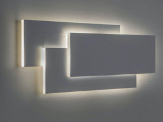 Настенный светильник Trame белого цвета