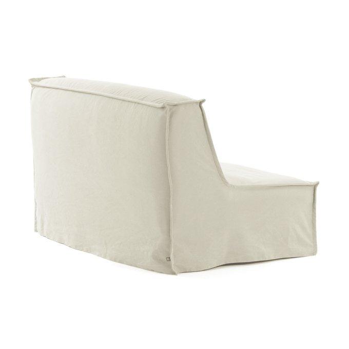 Диван-кровать Lyanna белого цвета