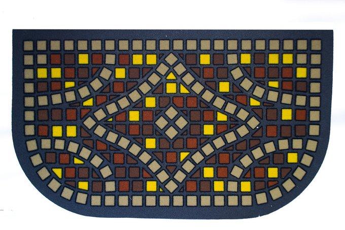 Придверный коврик с резиновым основанием 40х68