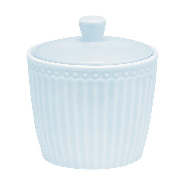 Сахарница Alice pale blue  из высококачественного фарфора