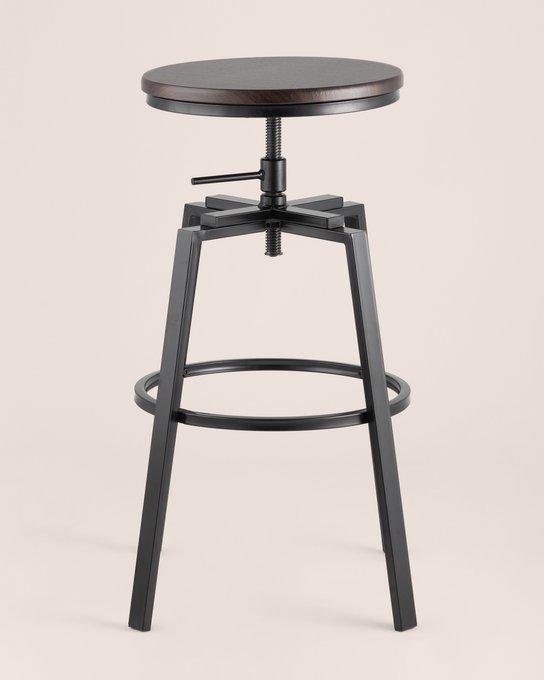 Барный стул Амат из металла и дерева