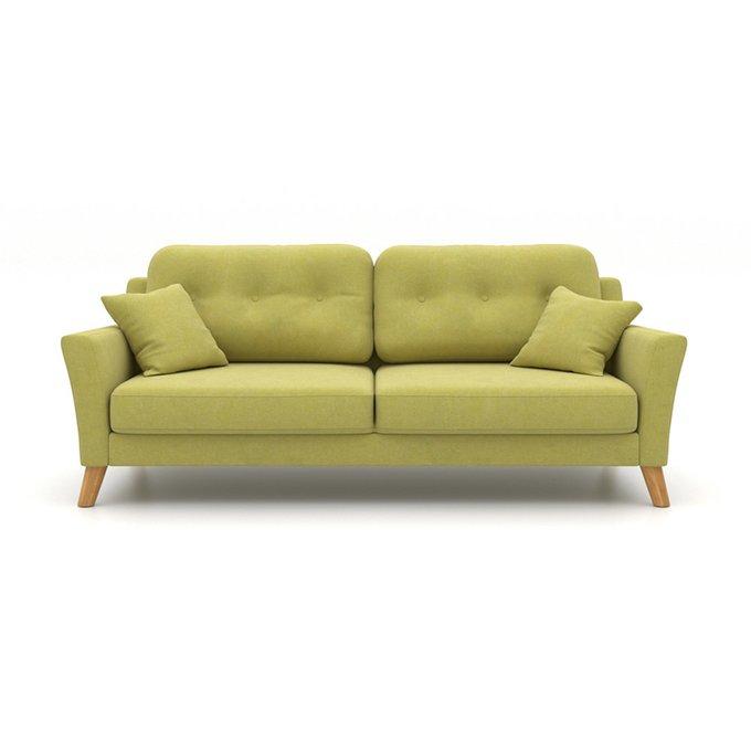 Диван-кровать Raf EKH трехместный зеленый