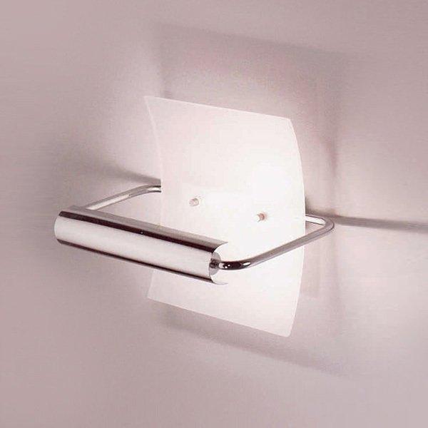 Настенный светильник Zonca из стекла матового белого цвета