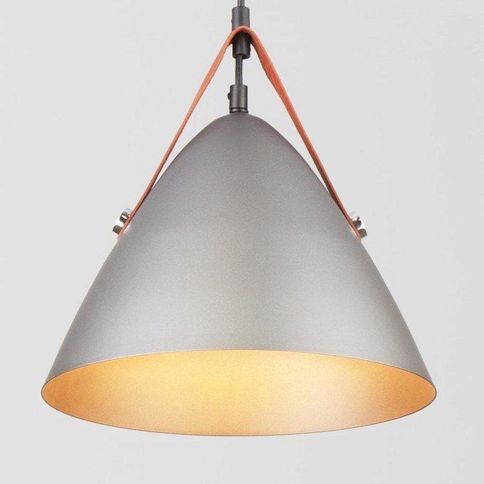 Подвесной светильник Hanoi серого цвета