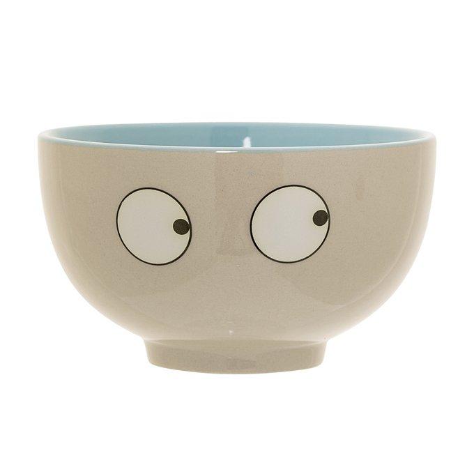 Чаша Eyes blue из керамики