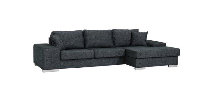 Угловой диван Magnum черного цвета
