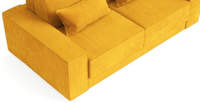 Диван-кровать Модесто желтого цвета
