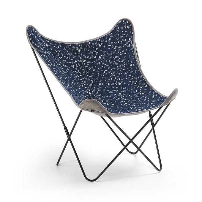 Кресло Flynn темно-синего цвета
