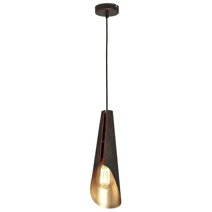 Подвесной светильник Calyx медного цвета
