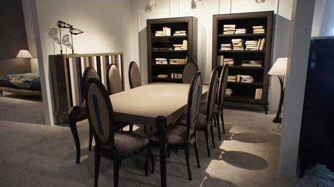 Обеденный стол LA EBANISTERIA QUANTUM из высококачественного МДФ высокой плотности и массива бука