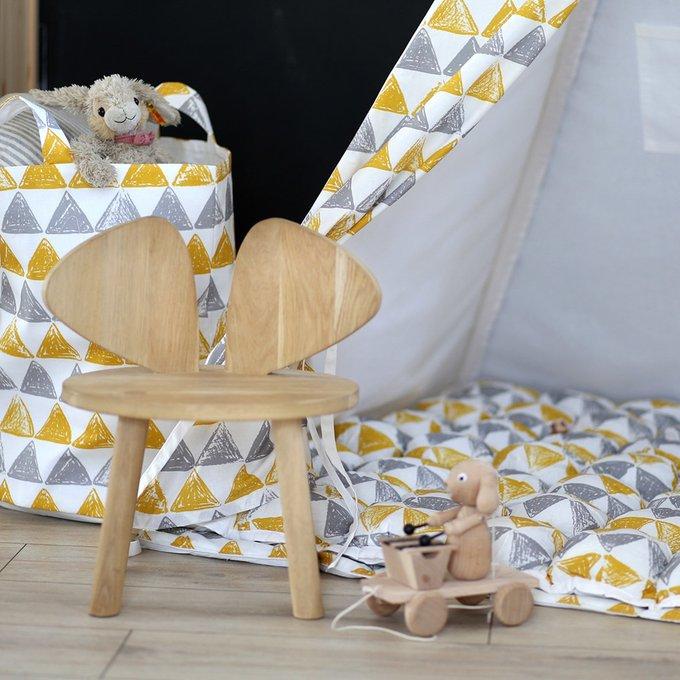 Чехол для подушки Triangles из 100% хлопка