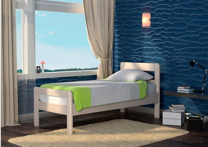 Кровать Кредо ясень-дуб сонома 160х200