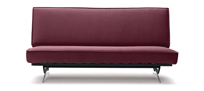 Диван-кровать Арни Galaxy красного цвета цвета