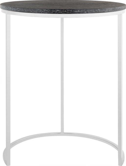 Стол журнальный Selso на металлическом основании