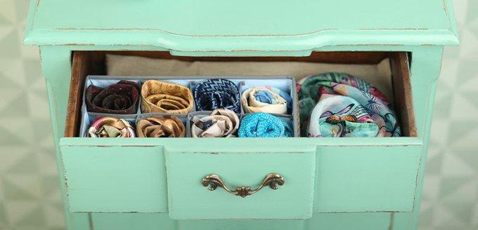 Органайзер Casy Home для шейных платков и галстуков