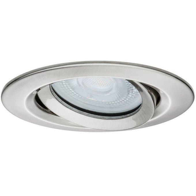 Встраиваемый светодиодный светильник Paulmann Nova из металла