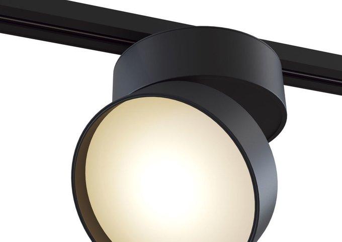 Трековый светодиодный светильник Track lamps черного цвета