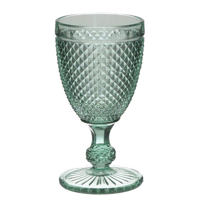 Набор из шести бокалов бирюзового цвета