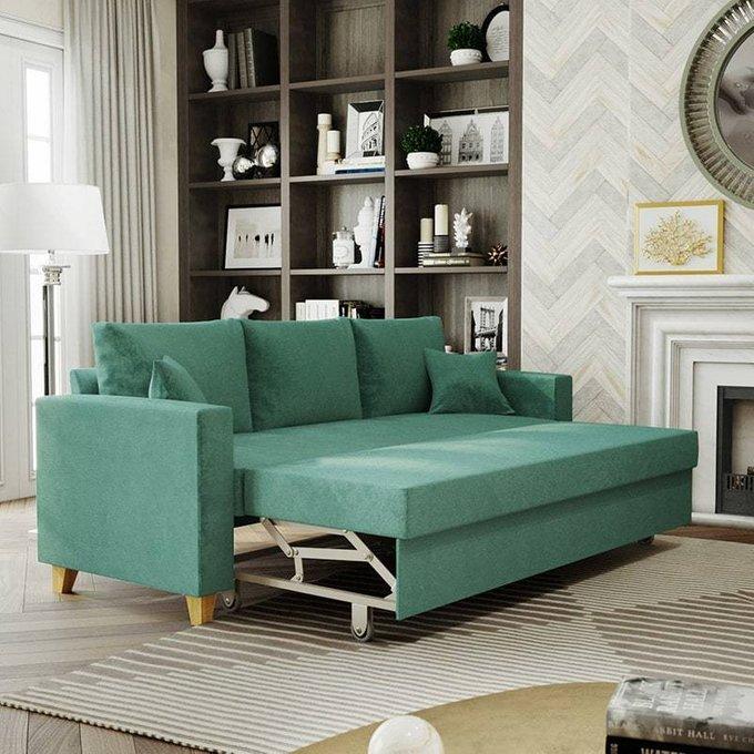 Диван-кровать Эмилио желтого цвета