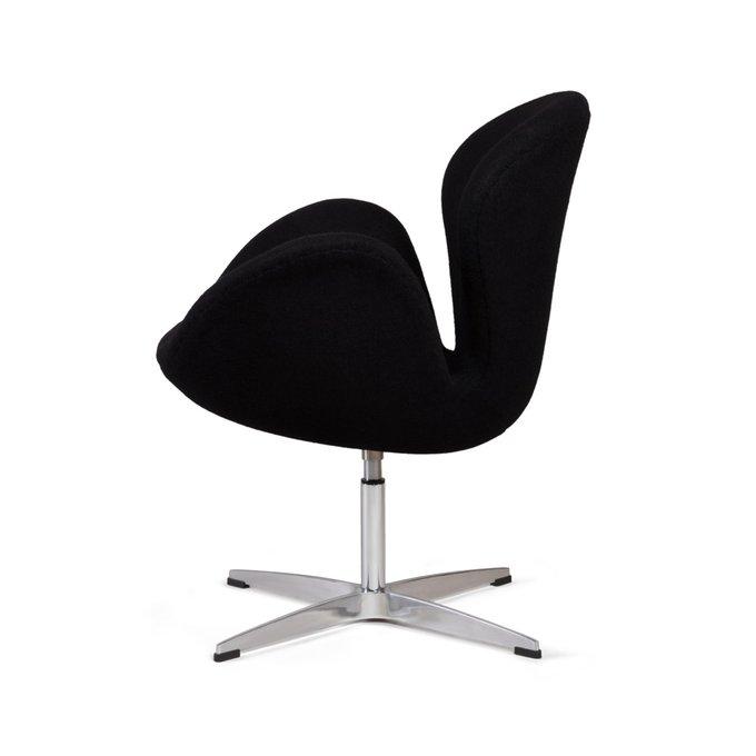 Кресло Swan черного цвета
