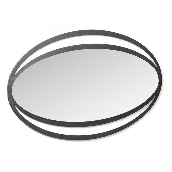 Настенное зеркало Momoe в металлической раме