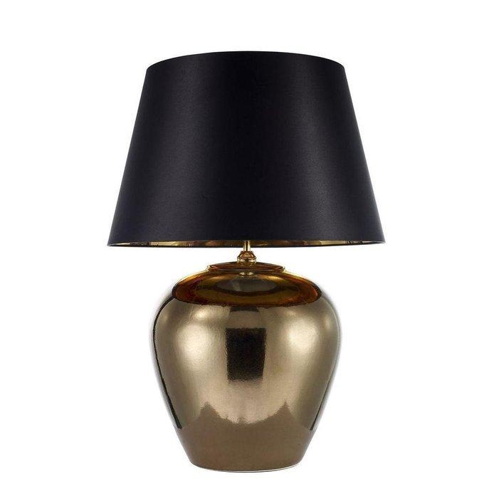 Настольная лампа Lallio с черным абажуром