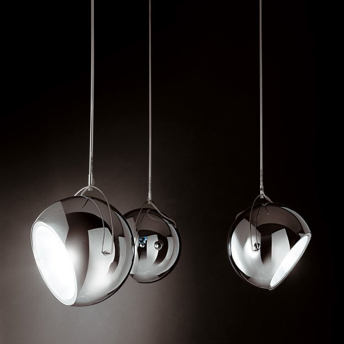 Подвесной светильник Fabbian Beluga с плафоном из металла