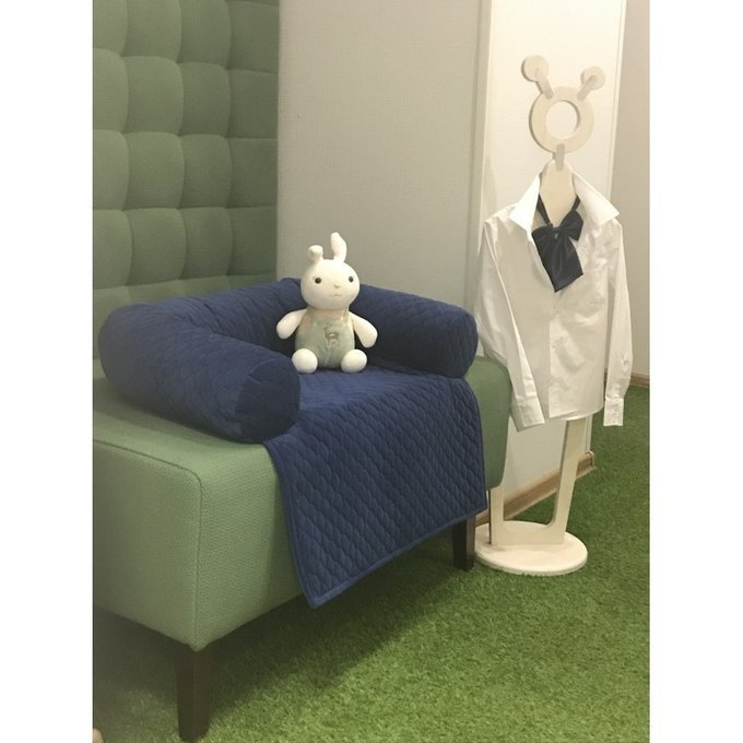 Высокий диван Бристоль зеленого цвета